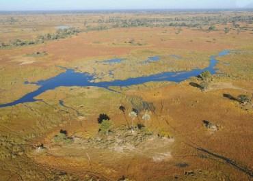 Sunway Botswana Okavango Delta scenic flight