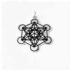 Pandantiv Cubul lui Metatron