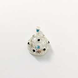 Pandantiv Floarea Vietii 3 D cu 7 cristale