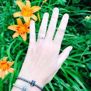 Inel cu simbolul Infinitului