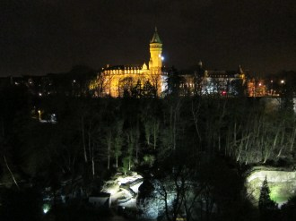 1 Luxembourg by night