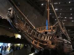 The prow of Vasa