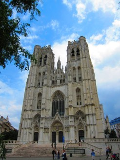 St. Michael and St. Gudula, Brussels Cathedral, Brussels