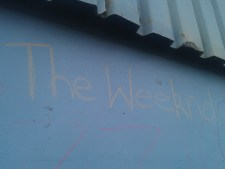Chalk it up, the Weeknd