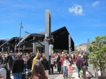 The Marae, with Te Papa behind it
