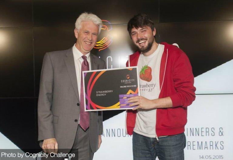 John Garwood, ispred Canary Wharf kompanije i Miloš Milisavljević, direktor i osnivač Strawberry energy-a (1)