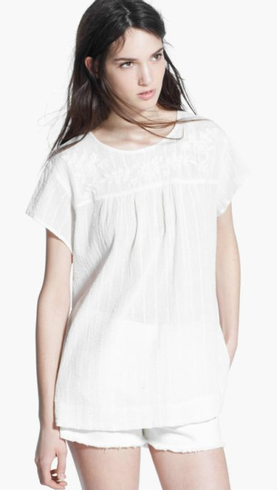 COTTON BLOUSE 1990 mng
