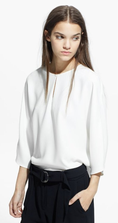 CREPE BLOUSE 1990 mng