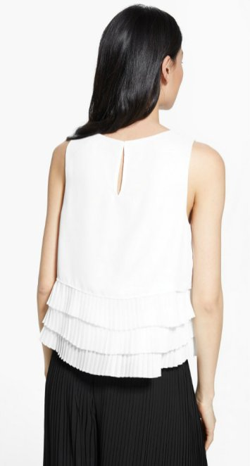 PLEATED LAYERS TOP 1990 mng