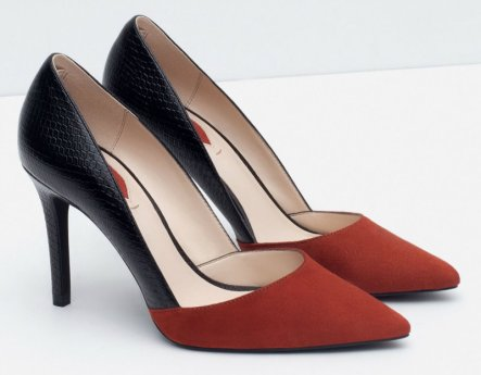 MID HEEL COMBINED COURT SHOES 5990