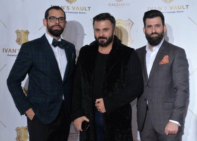 Marjan Nikolic, Bata Spasojevic i Igor Kecman