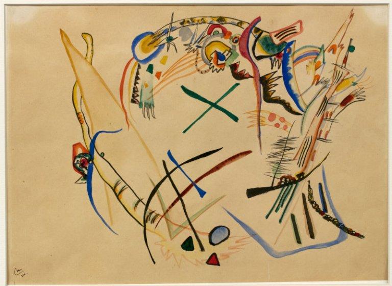 Vasilij Kandinski- Studija Supermatizam
