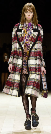 Burberry Womenswear February 2016 Collection - Look 20