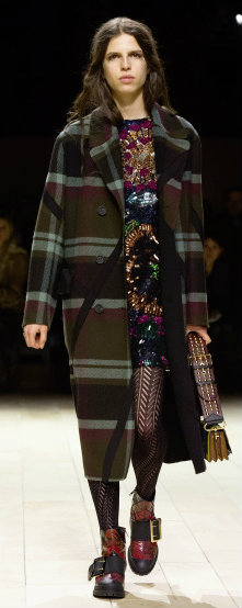 Burberry Womenswear February 2016 Collection - Look 5