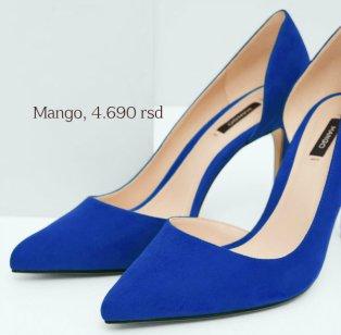 Asymetric stiletto shoes