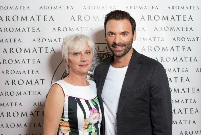 Lejla Ljubenković  AromaTea i Dragan Vurdelja, ugledni beauty ekspert