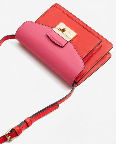 mng Contrast cross-body bag 3990