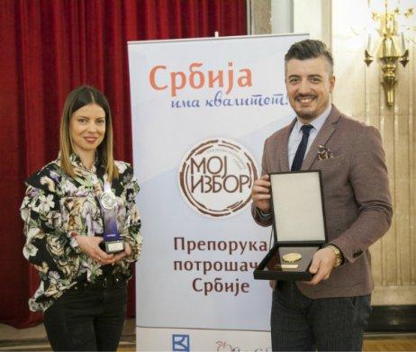 Aleksandra Savić, Senior Brend Menadžerka i Nemanja Brković,Menadžer za odnose sa javnošću