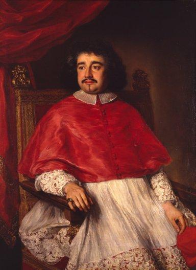 Portret kardinala Flavija Kicija - Jakob Ferdinand Fut