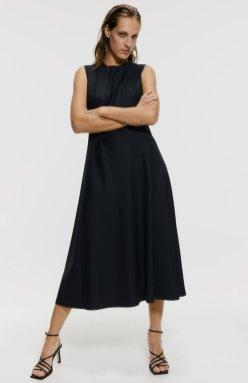 LONG A-LINE DRESS 3290 za