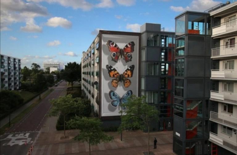ulična umetnost oslikane fasade
