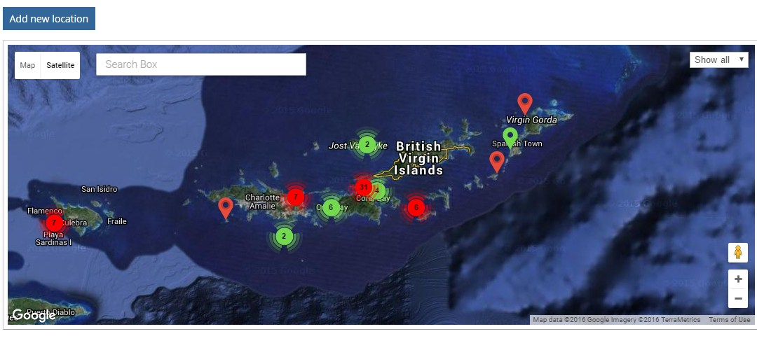 New lionfish tracking map released