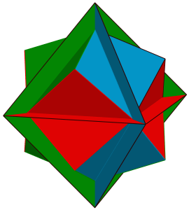 Skeletal Octahedron with Everted Inner vertices