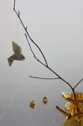 Denne klassiske fuglen er og en favoritt, her i minivariant sammen med små Lucky stars.