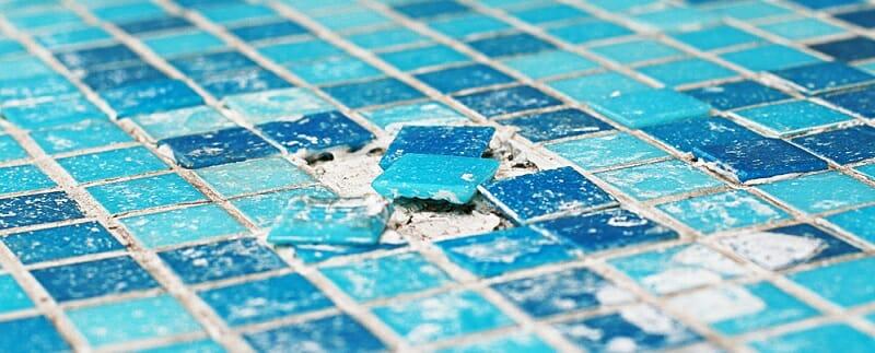 broken pool tile is inevitable let