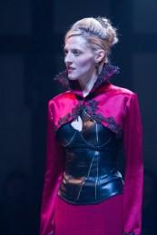 Julia Motkya as Queen Elizabeth in Richard III. Photo by Teresa Wood.