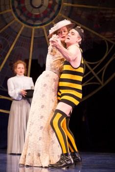 Richard Sheridan Willis and Rachel Pickup in Twelfth Night. Photo by Scott Suchman.