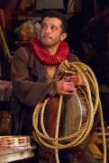 Luis Alberto Gonzalez as a Tragedian. Photo by Teresa Wood.