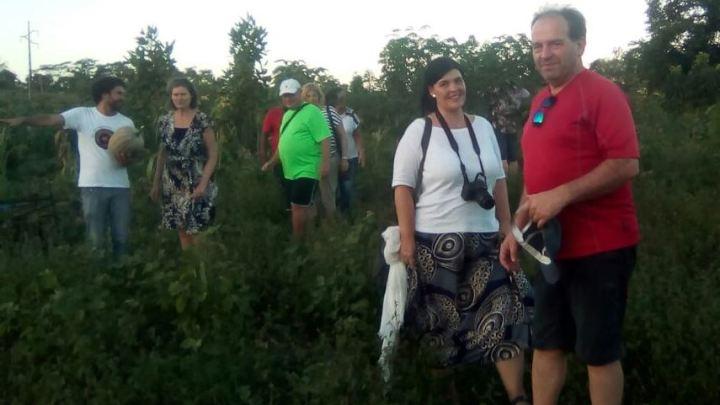 Caravana de Estrangeiros visitam Comunidades Impactadas pelo Colapso Hídrico do Rio Utinga