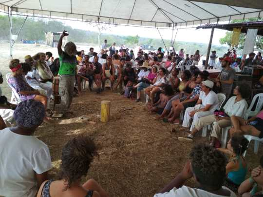 Roda de Conversa durante a VI Jornada de Agroecologia da Bahia