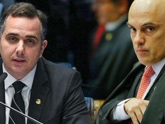 Moraes e Rodrigo Pacheco