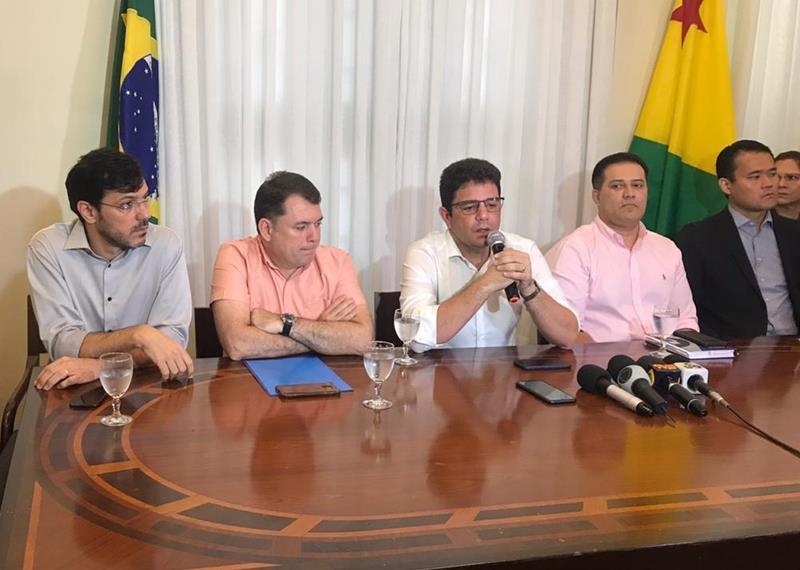 """""""Não queremos causar alarde, mas a situação é gravíssima"""", diz governador do Acre"""