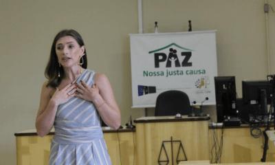 Juíza de Paranaguá aborda a desigualdade de gênero