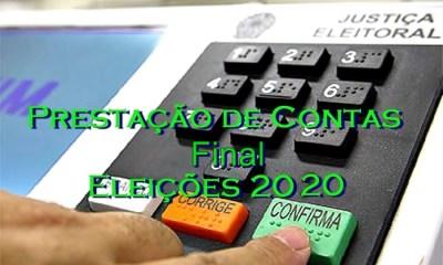Eleições 2020: Prazo para entrega da prestação de contas final encerra dia 15 de dezembro