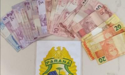Menor é detido por populares após roubar estabelecimento comercial em Antonina