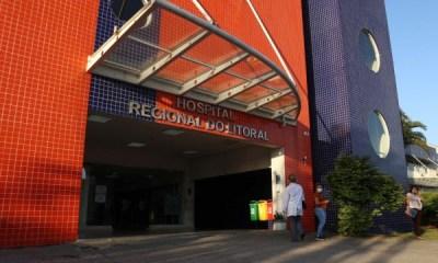 21 pacientes estão internados na Ala Covid-19 do Hospital Regional do Litoral
