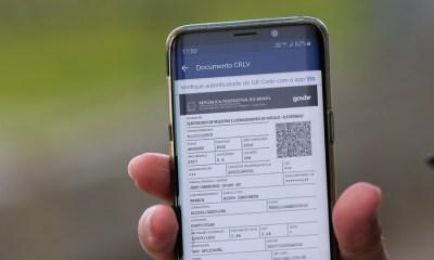 Documento de propriedade de veículos também passa a ser digital