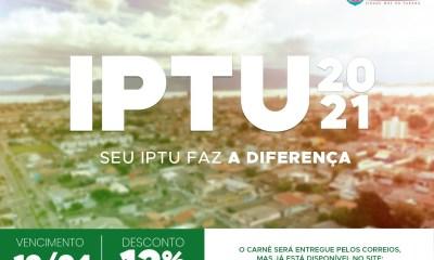 Carnês do IPTU começam a ser entregues pelos Correios aos contribuintes de Paranaguá