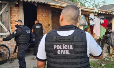 PCPR realiza operação contra receptação de produtos roubados em Matinhos
