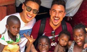 """Jogadores do Palmeiras fazem viagem missionária à África: """"Frutos sendo gerados"""""""