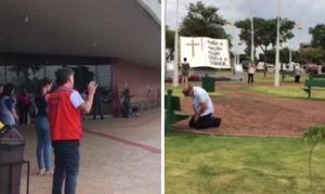 Após pedido de prefeito, cidade do Paraná sai às ruas para orar