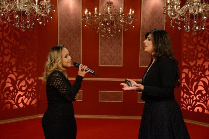 Fernanda Brum e Bruna Karla em dueto