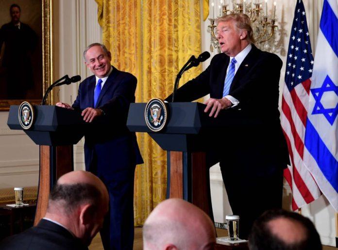 Benjamin Netanyahu e Donald Trump