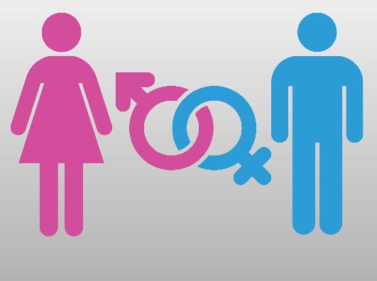 Símbolos dos sexos masculino e feminino