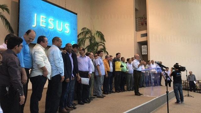 Pastores da CIMADB que decidiram se desligar da CGADB