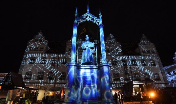 Celebração dos 500 anos da Reforma Protestante em Wittenberg, na Alemanha